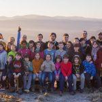 campamento de inverno no Xurés