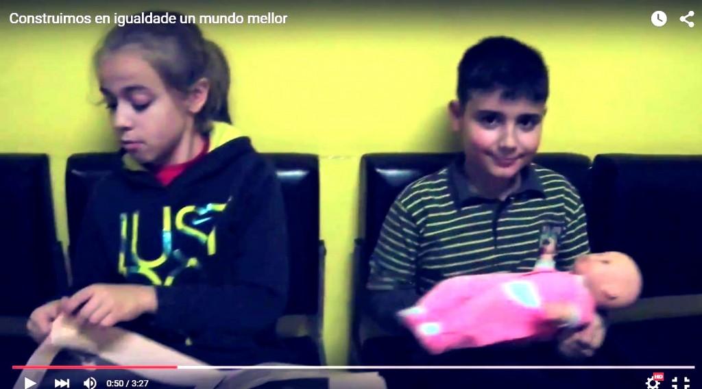 Vídeo musical do Grupo Scout Ilex sobre a igualdade de xénero