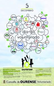 cartel feira voluntariado ourense 2015