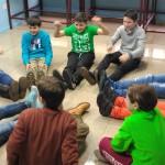reunión de traballo da Tropa Scout