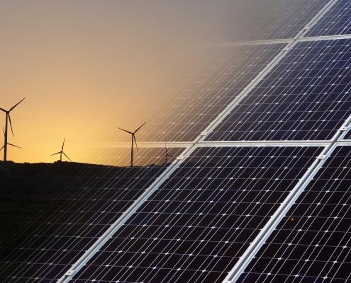 enerxía solar e eólica