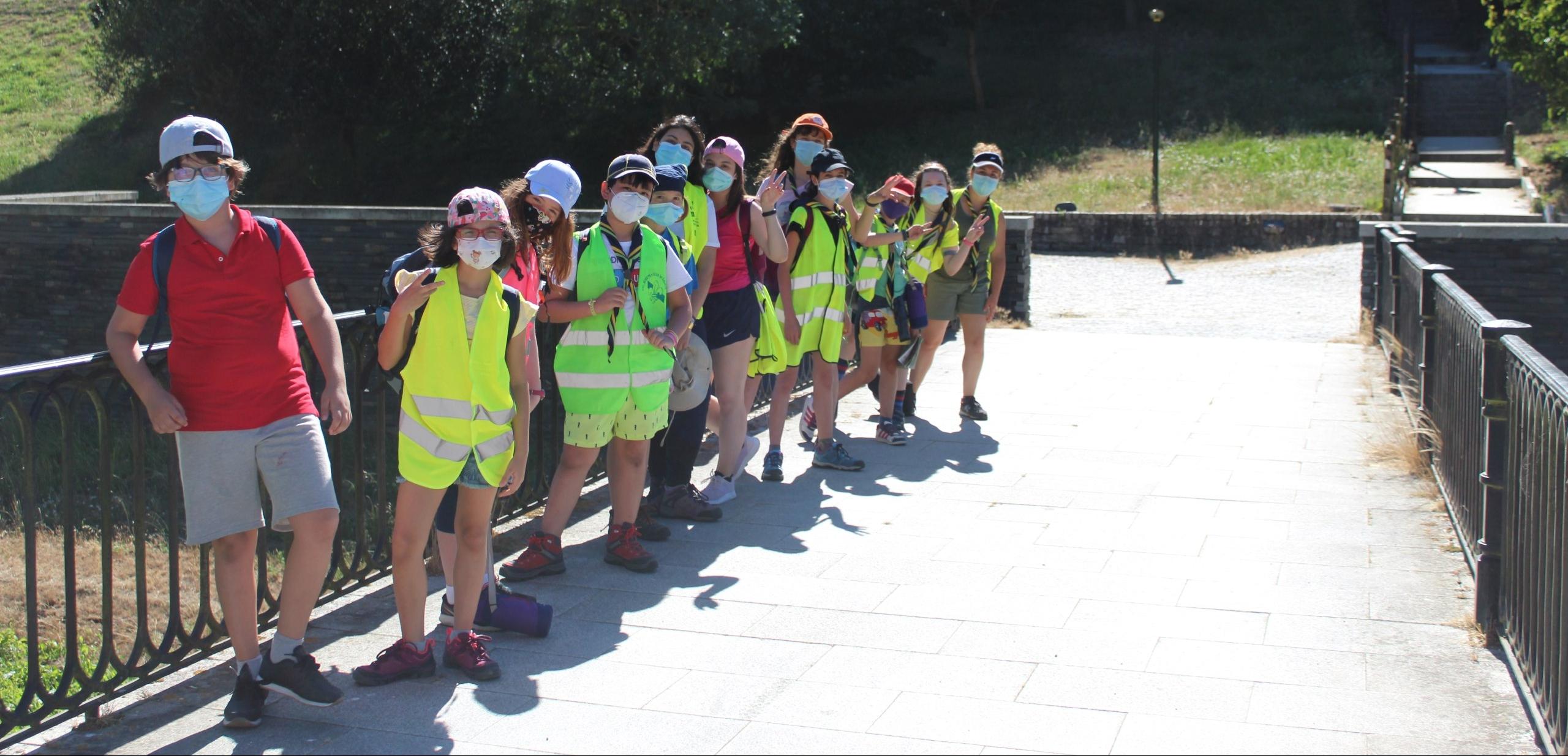 De ruta scout por Lugo